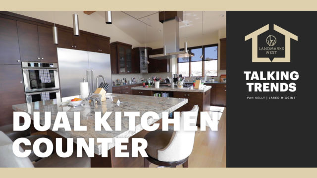 4 - Dual Kitchen Counter