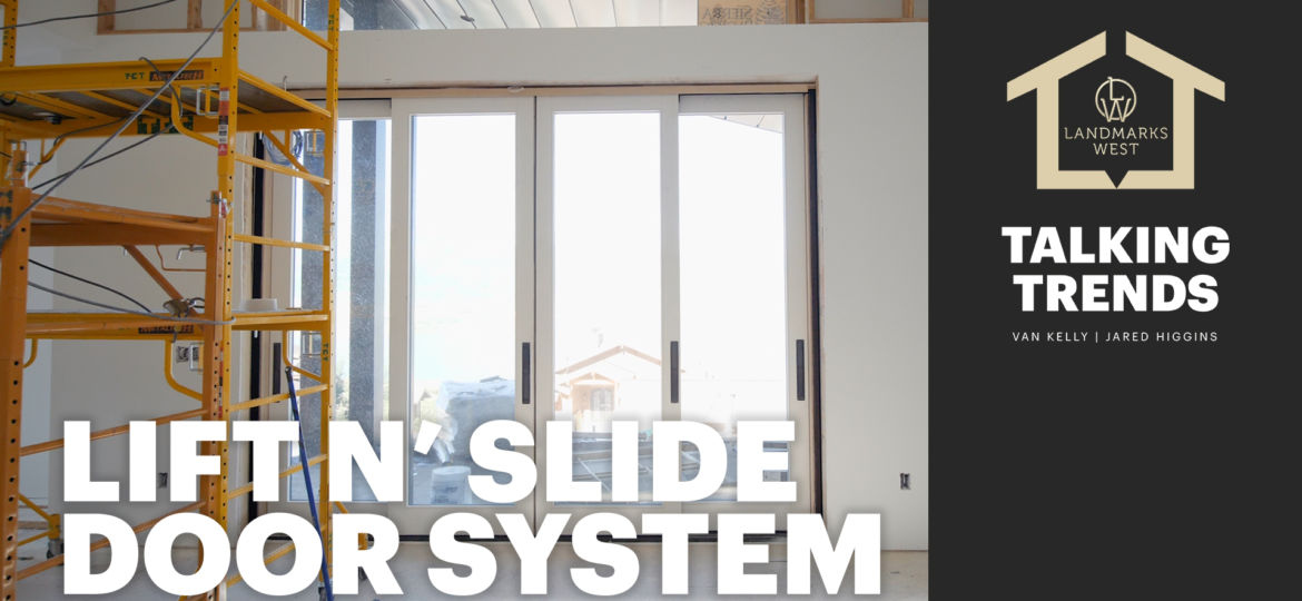 Lift'n Slide Door System