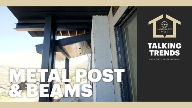 Metal Post & Beams